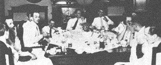 The Wuhan Gang, including Joseph Stilwell, Agnes Smedley, Evans Carlson, Frank Dorn, Jack Belden, S.T. Steele, John Davies, David Barrett and more, were the core of the Americans who were to influence the American decision-making on behalf of the Chinese communists.  It was not something that could be easily explained by Hurley's accusation in late 1945 that American government had been hijacked by  i) the imperialists (i.e., the British colonialists whom Roosevelt always suspected to have hijacked the U.S. State Department)   and ii) the communists.  At play was not a single-thread Russian or Comintern conspiracy against the Republic of China but an additional channel  that was delicately knit by the sophisticated Chinese communist saboteurs to employ the above-mentioned Americans for their cause